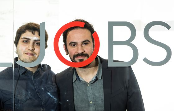 Henrique Calandra e Diogo Miloni, sócios da Jobs for Refugees