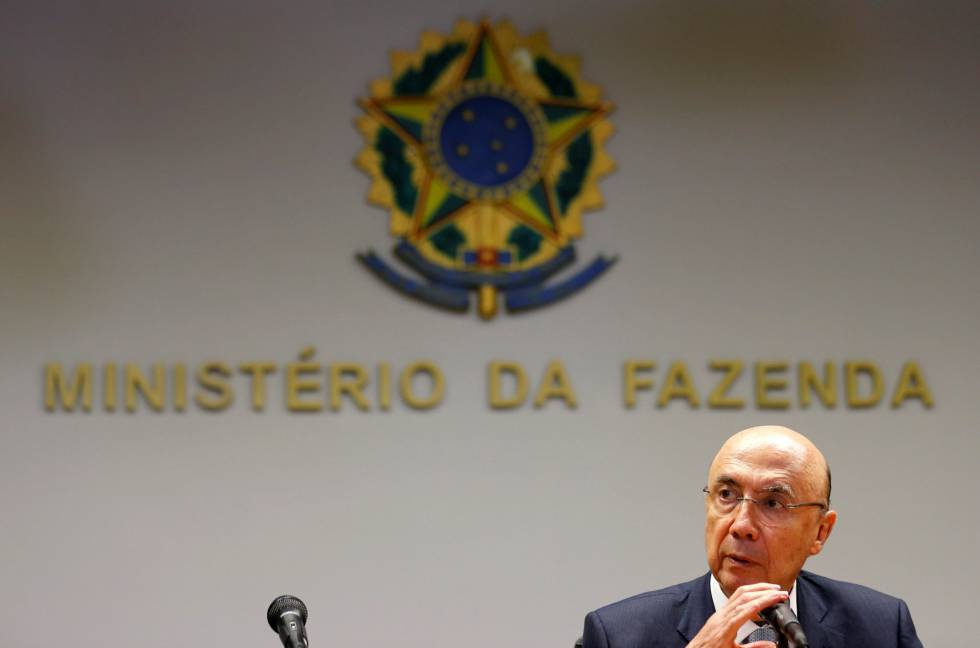 Brazil's Finance Minister Henrique Meirelles attends a news conference in Brasilia, Brazil, May 13, 2016.  REUTERSPaulo Whitaker