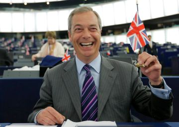 Nigel Farage, o outro pai do 'Brexit'