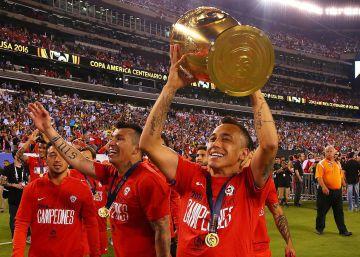 ff4ffae3bd Chile vence a Argentina e é campeão da Copa América Centenário