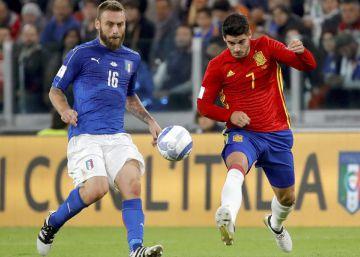 Espanha e Itália empatam por 1 a 1 no Juventus Stadium 129c80c06366b
