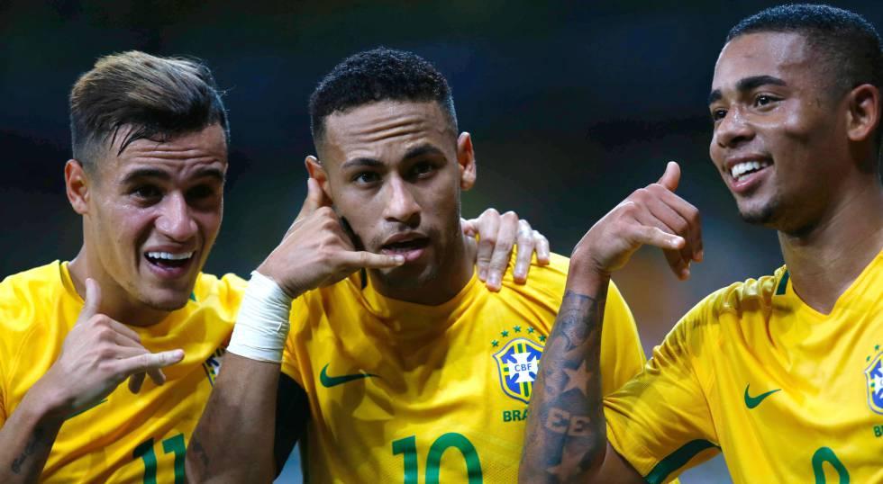 Resultado e Gols  Brasil vence a Argentina por 3 a 0 no Mineirão ... 85da212e9c304