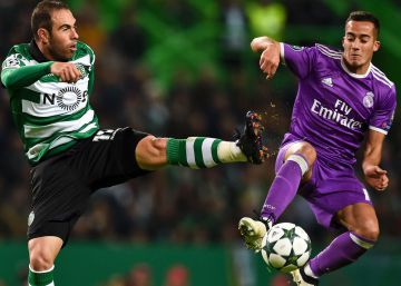 Real Madrid vence o Sporting por 2 a 1 e se classifica
