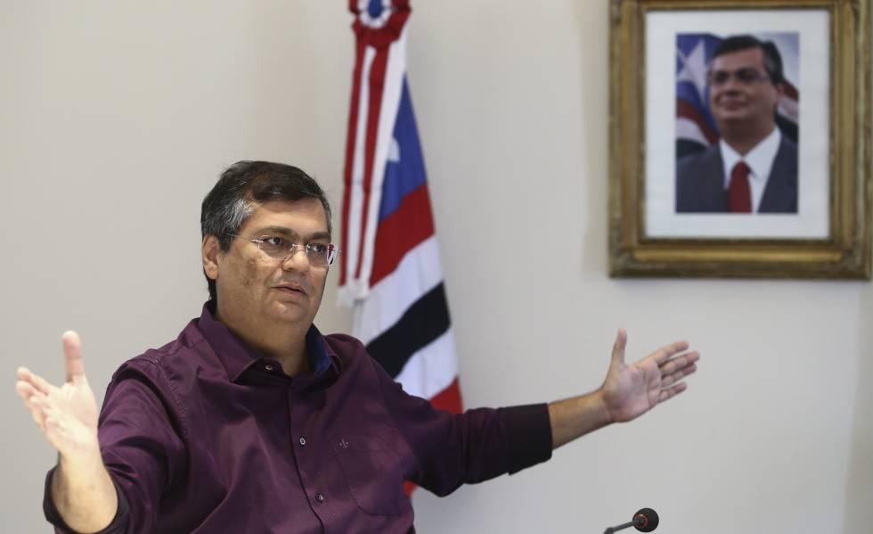 Resultado de imagem para governador Flávio Dino (PCdoB), do Maranhão