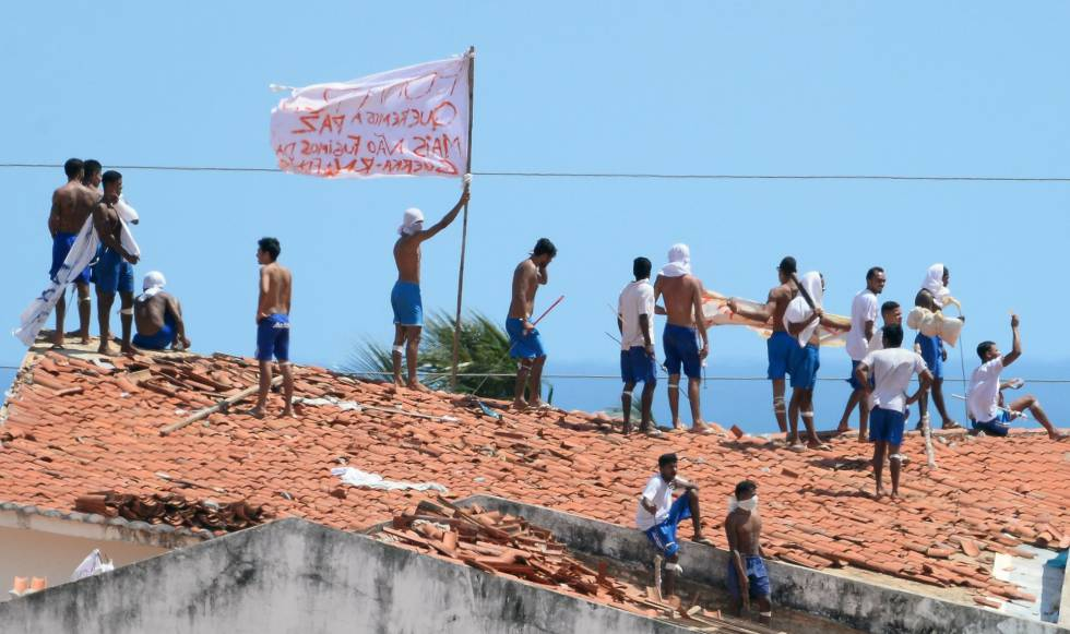 Rebelião presídio Natal Rio Grande do Norte