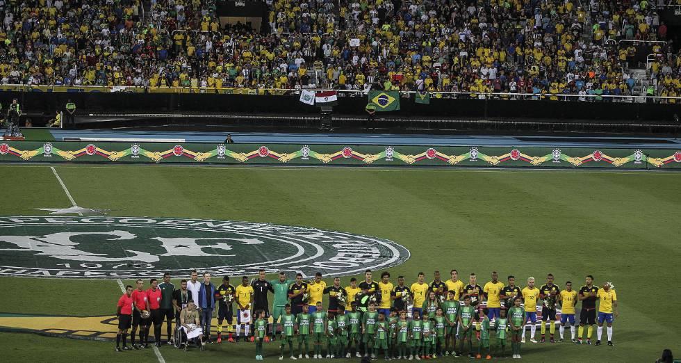 Resultado Brasil x Colômbia gols pelo Jogo da Amizade