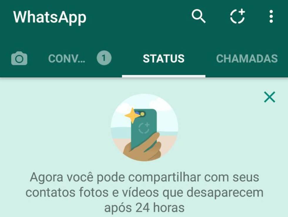 Imagens Para Status Pra Whatsapp Facebook Pinterest E Etc: WhatsApp Lança Status, Recurso Inspirado No Snapchat (e