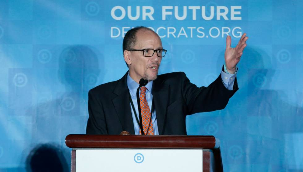 O novo chefe do Comitê Nacional Democrata, Tom Perez.