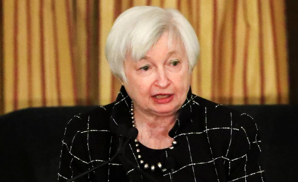 A presidenta do Federal Reserve (Fed), Janet Yellen. EFEArquivo