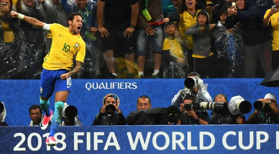 Brasil vence o Paraguai por 3 x 0 e está garantido na Copa do Mundo de 2018 5eee06cf37bca