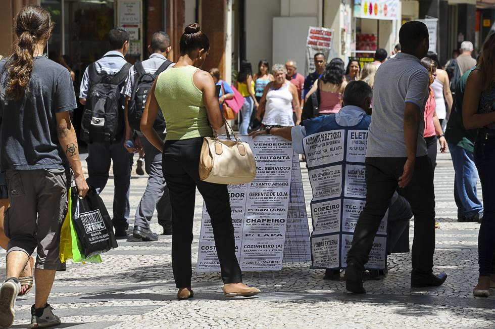 Procura por emprego em São Paulo