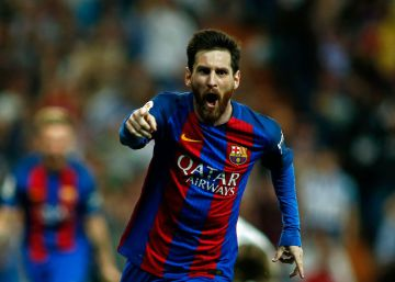 Barcelona supera o Real Madrid com gol 500 de Lionel Messi
