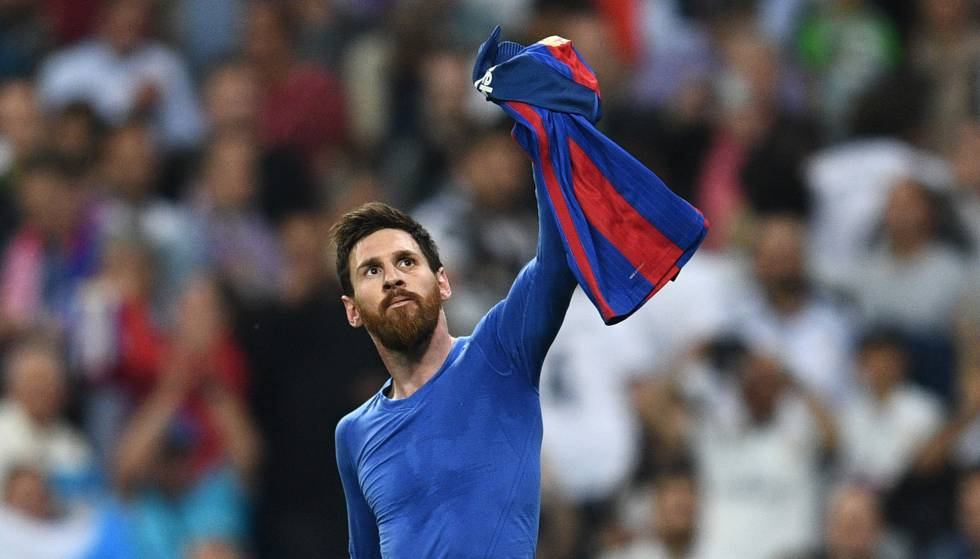 Messi 500 gols Real Madrid x Barcelona
