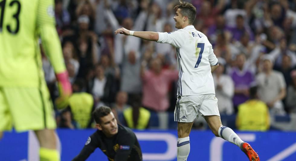 1b0837a468 Cristiano Ronaldo faz três e Real vence o Atlético por 3 x 0 pela Champions  League