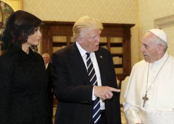Papa Francisco recebe Trump com frieza