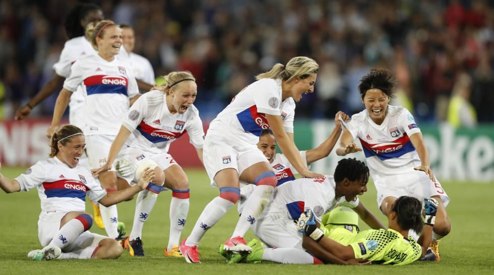 Lyon vence o PSG nos pênaltis e conquista a Champions League de futebol  feminino ce9e052c719fb