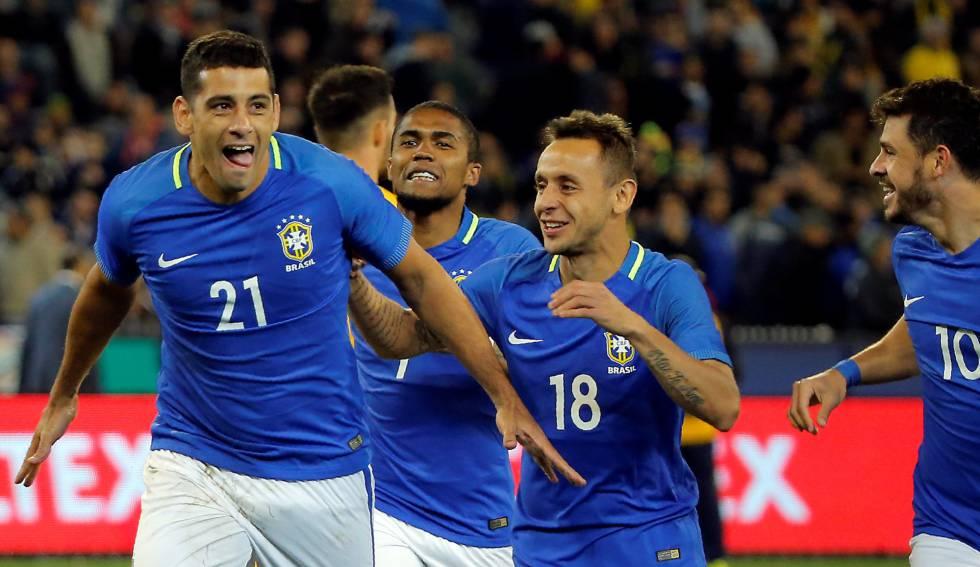58083806d9 Brasil vence a Austrália por 4 x 0 com dois gols de Diego Souza ...