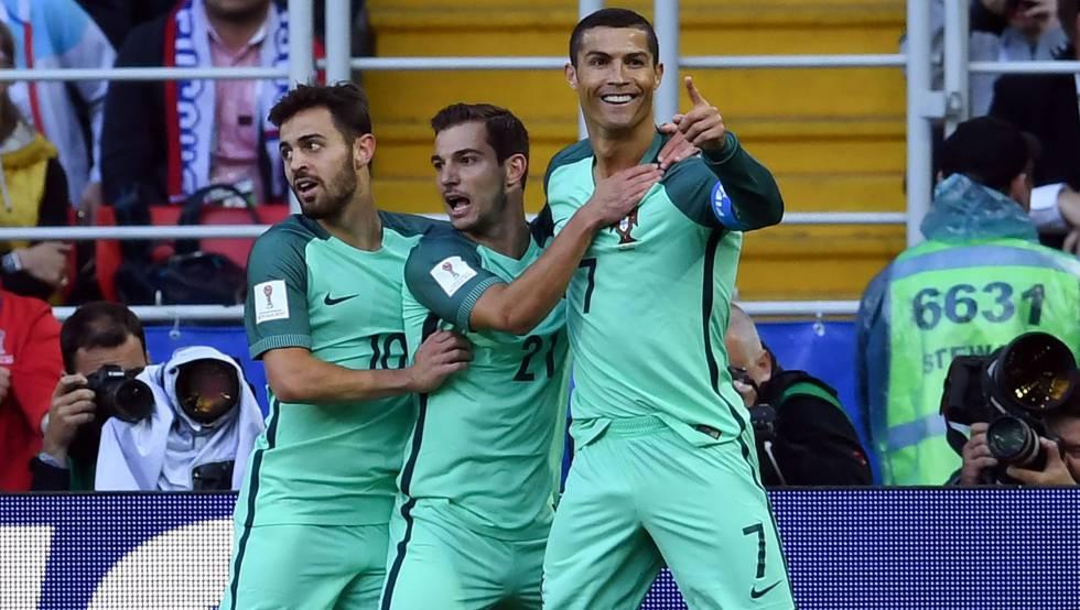 2b860756c4 Cristiano Ronaldo decide e Portugal vence a Rússia por 1 x 0 pela Copa das  Confederações