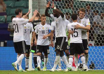 Alemanha vence o México por 4 x 1 e está na final da Copa das Confederações c0361358f495d