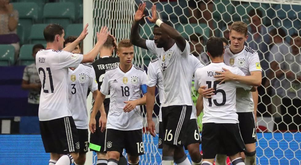 2a5f6ed8aa Alemanha vence o México por 4 x 1 e está na final da Copa das Confederações