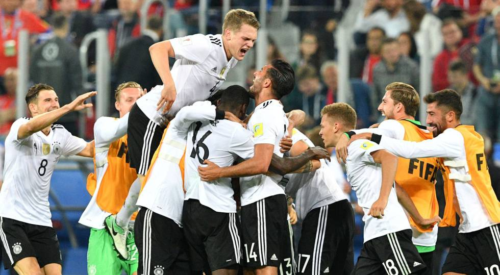 Alemanha vence o Chile por 1 x 0 e é campeã da Copa das Confederações de  2017 d7e54c55af917