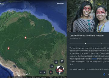 O Google Earth mapeia a Amazônia