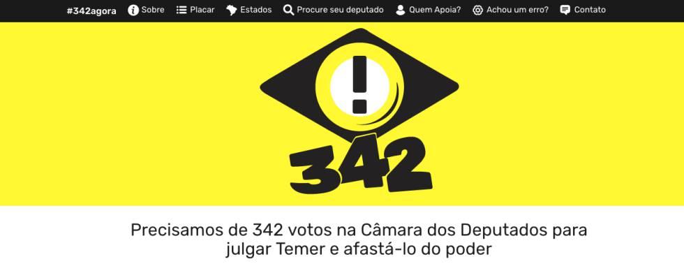 342 Agora, o movimento virtual contra Temer que sonha em acordar as ruas