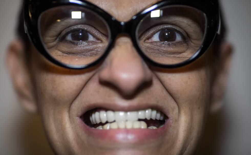 Berna Reale posa para foto em São Paulo.