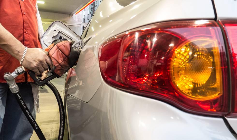 Alta do preço da gasolina