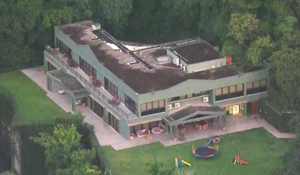 Casa onde Eike Batista cumpre prisão domiciliar, no Jardim Botânico, zona sul do Rio