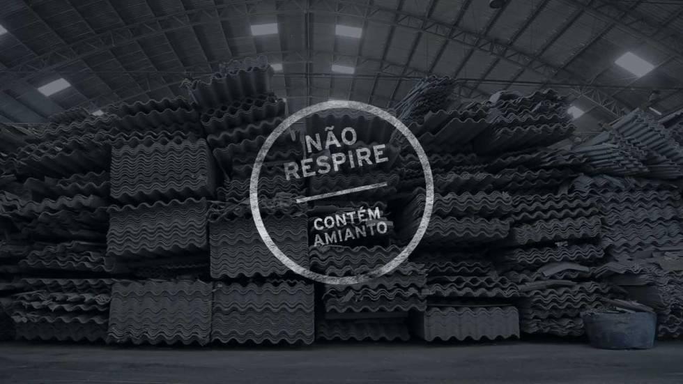 ameaça do amianto no Brasil