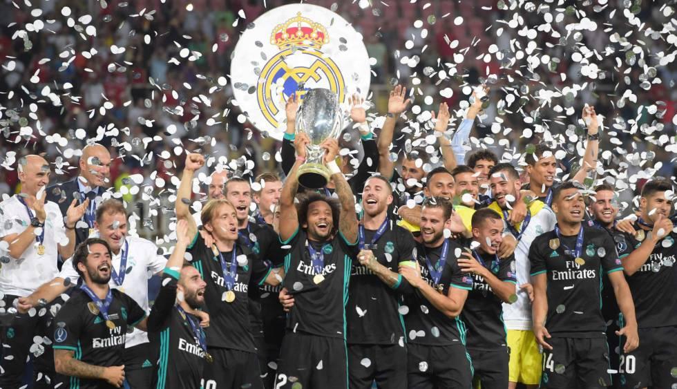 Real Madrid campeão da Supercopa da UEFA contra o Manchester United