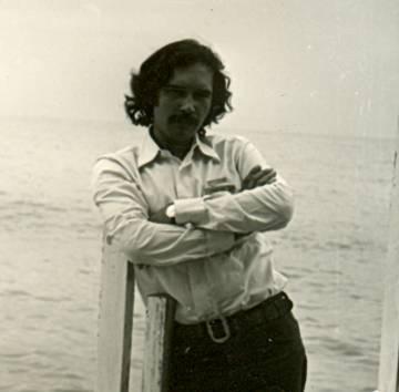 O agente duplo cabo Anselmo, em 1972.