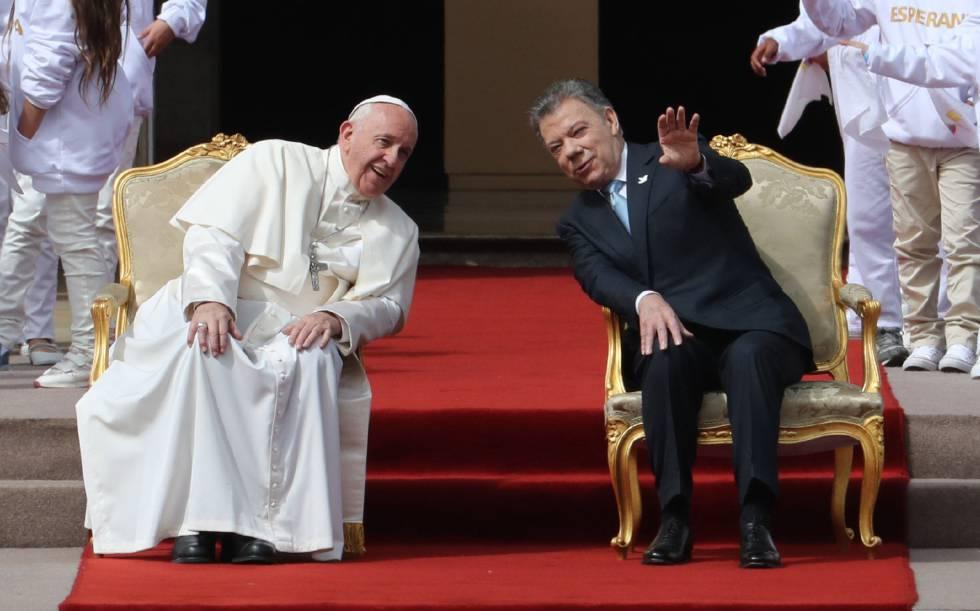 Papa pede a colombianos que renunciem à vingança para alcançar a paz