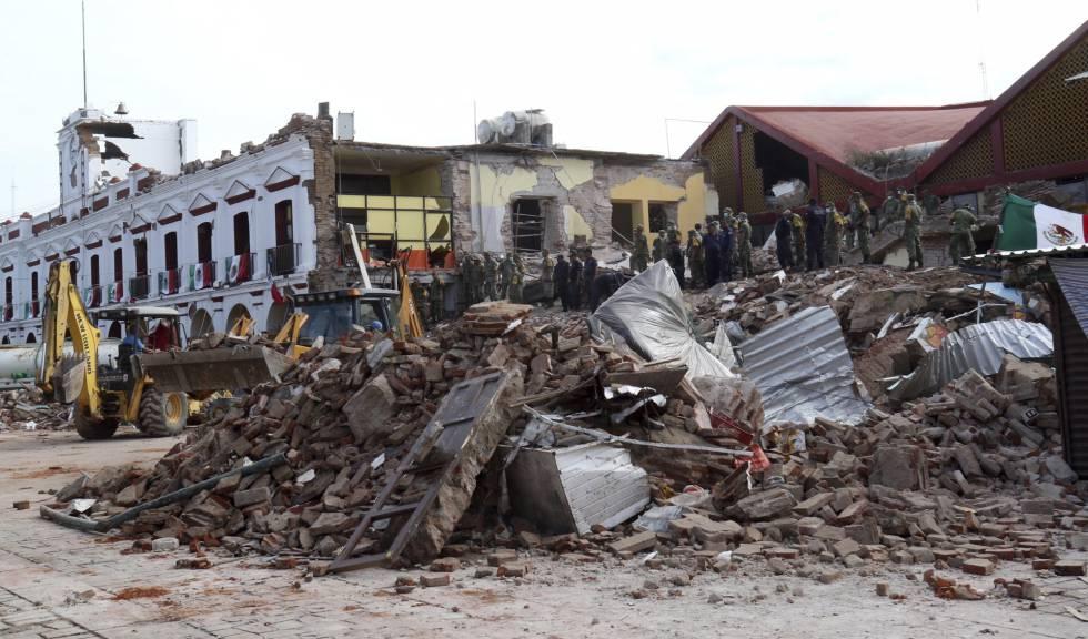 Terremoto no Mexico
