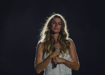 As lágrimas de Gisele no Rock in Rio