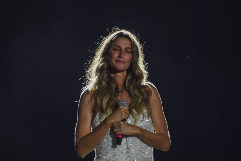 Gisele Bündchen no Rock in Rio