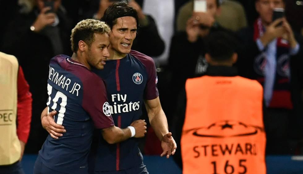 PSG vence Bayern de Munique pela Champions League com gols de Cavani e Neymar