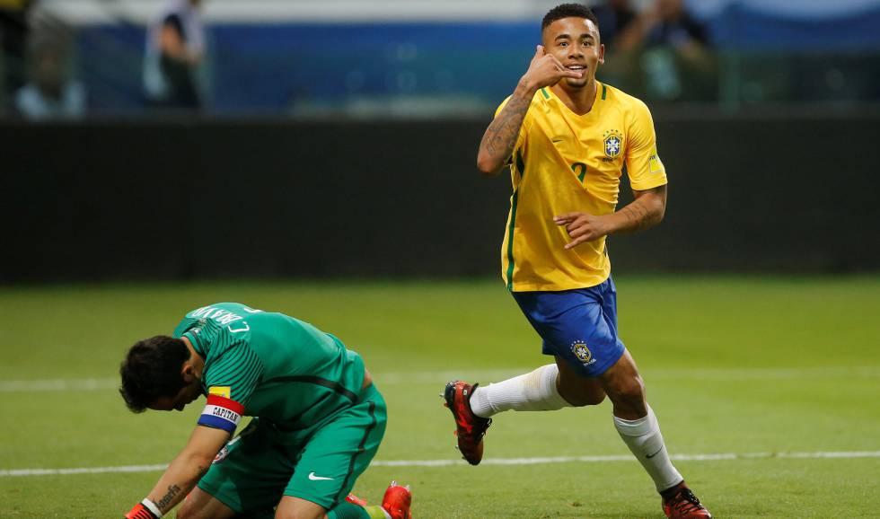 aff50a7046 Brasil vence no desfecho das Eliminatórias e tira o Chile da Copa do Mundo