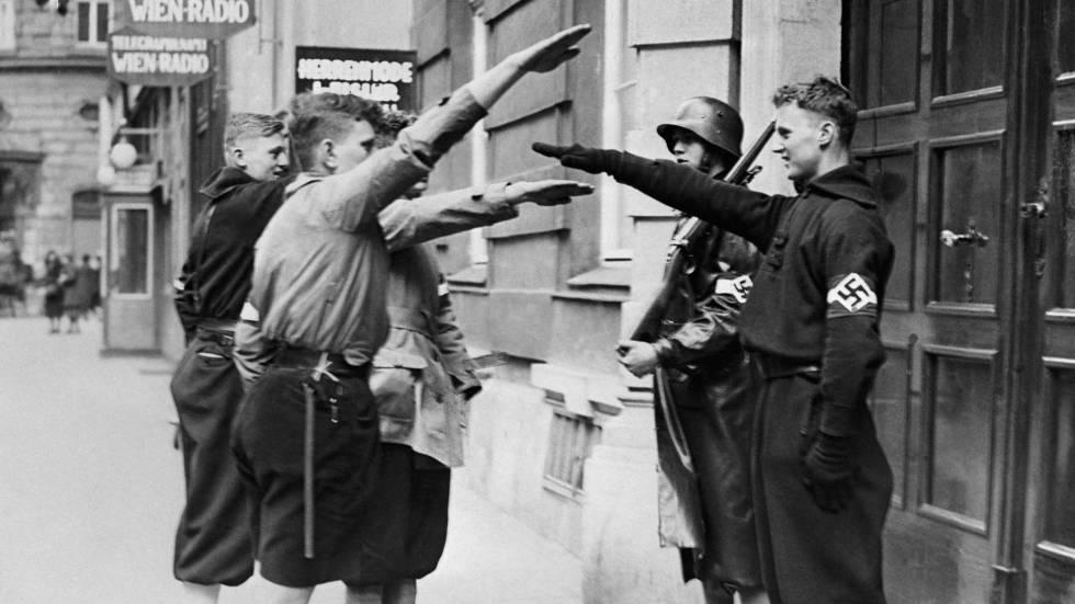 Juventudes Hitlerianas em Viena em 1938