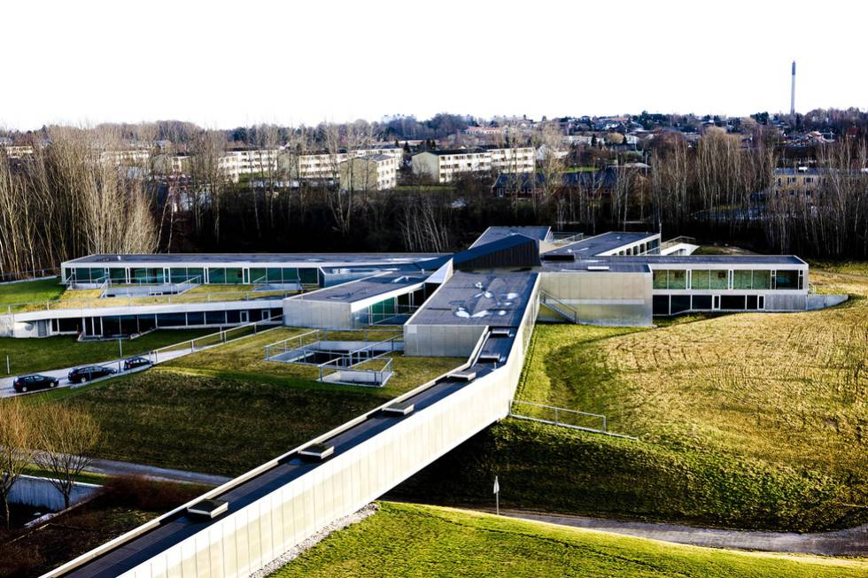 O floco de neve. Hospital psiquiátrico, Helsingør, 2005.