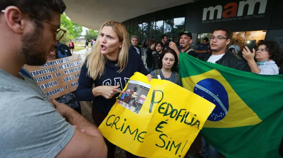 Protesto contra o MAM