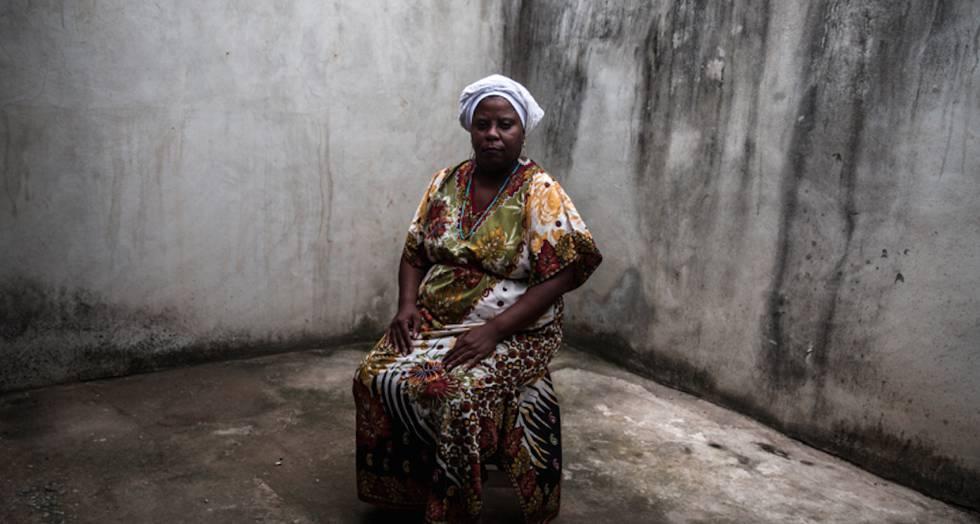 Madre Vivian cambió el terreiro a una casa más aislada en Sepetiba.