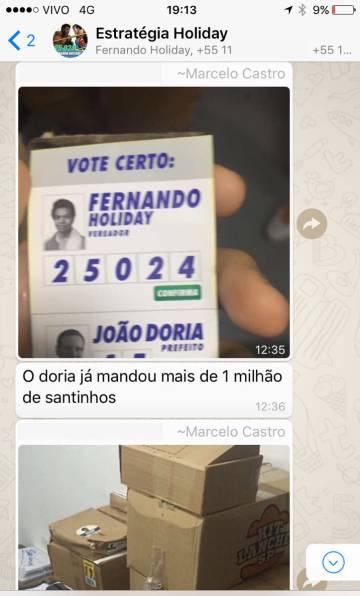 Ex-advogado de Holiday diz que ele não declarou doação de 1 milhão de 'santinhos' feita por Doria