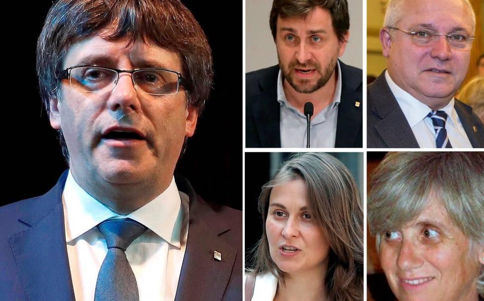 Presidente destituído da Catalunha se entrega voluntariamente em Bruxelas