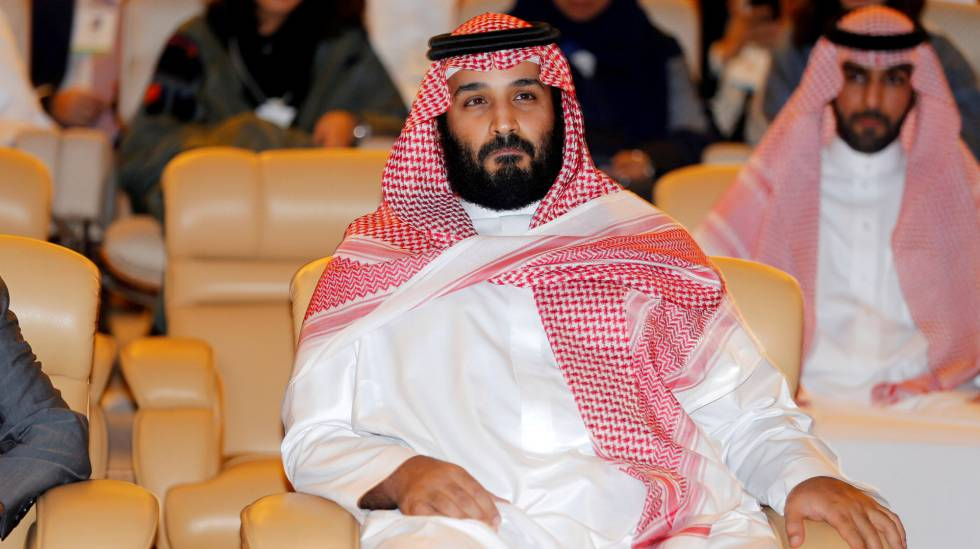O príncipe saudita Mohamed Bin Salman
