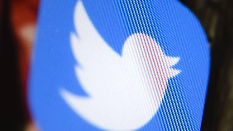 App do Twitter em um celular.