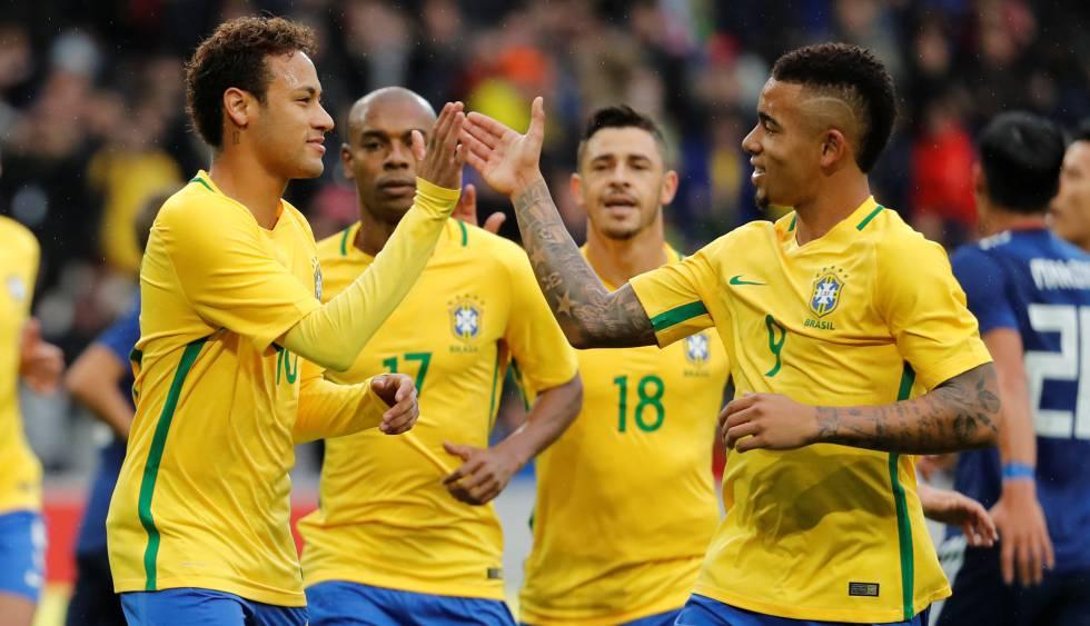 Resultado  Brasil vence o Japão no primeiro amistoso de preparação ... bfeeac5df3d10