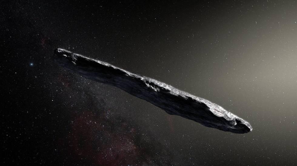 Asteroide Interestelar Assim é O Asteroide Oumuamua O Mensageiro