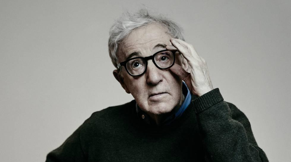 Woody Allen, fotografado há algumas semanas em Paris.